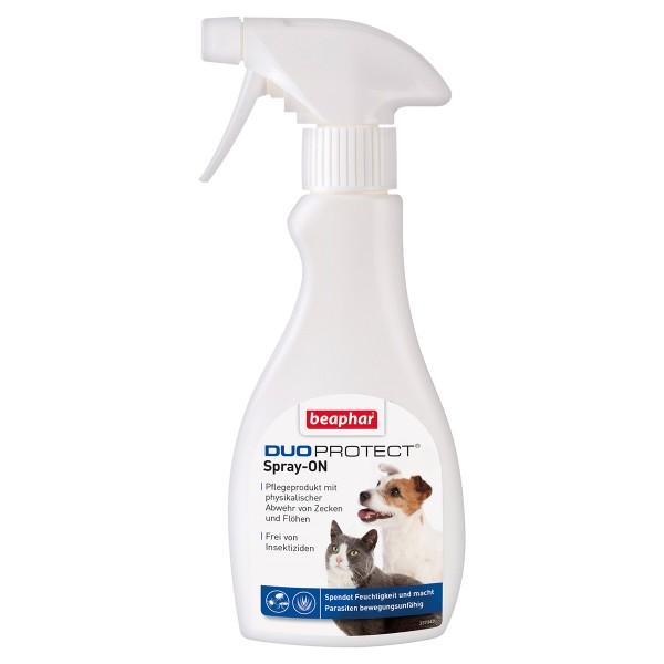 beaphar DuoProtect Parasitenabwehr Spray für Hunde und Katzen 250ml