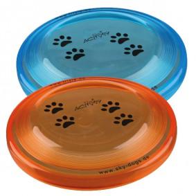 Trixie Dog Activity Dog Disc Hundefrisbee aus Kunststoff 23cm