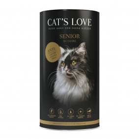 Cat's Love Senior kachna, 1 kg