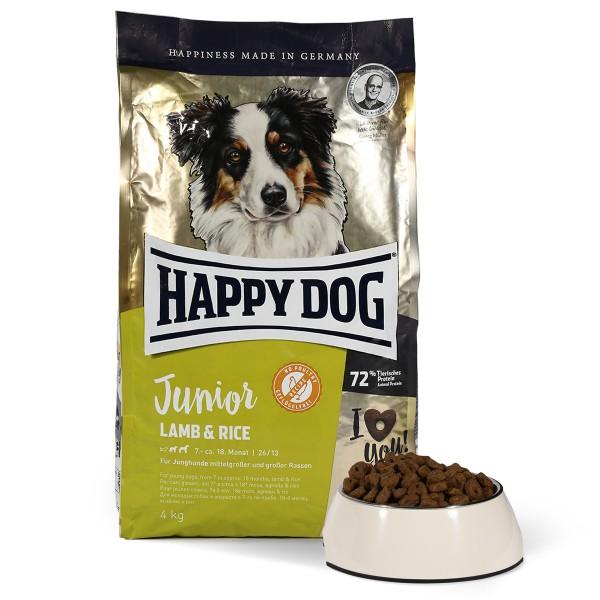 happy dog supreme young junior lamm reis kaufen bei zooroyal. Black Bedroom Furniture Sets. Home Design Ideas