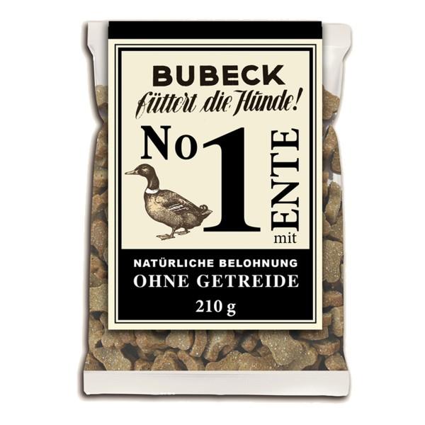 Bubeck Hundesnack No.1 Ente 210g
