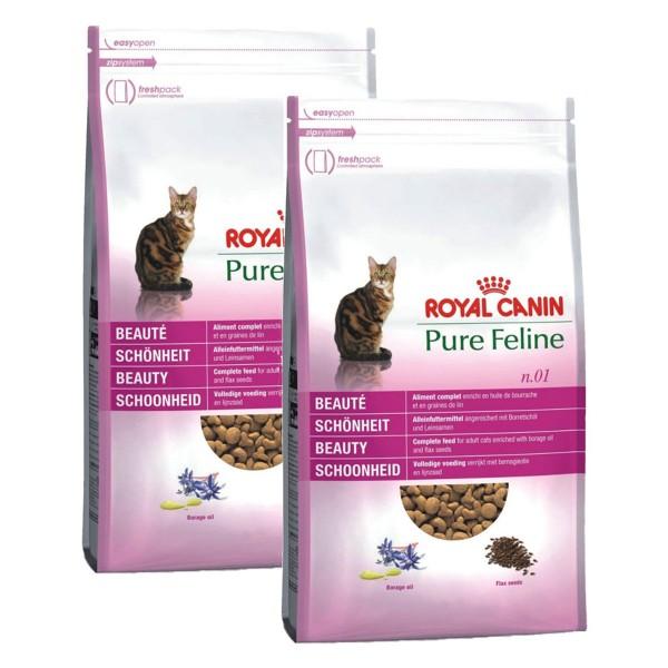 Royal Canin Katzenfutter n.01 Pure Feline Schönheit 2x3kg