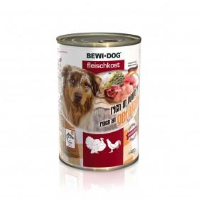 Bewi Dog Fleischkost Reich an Geflügel