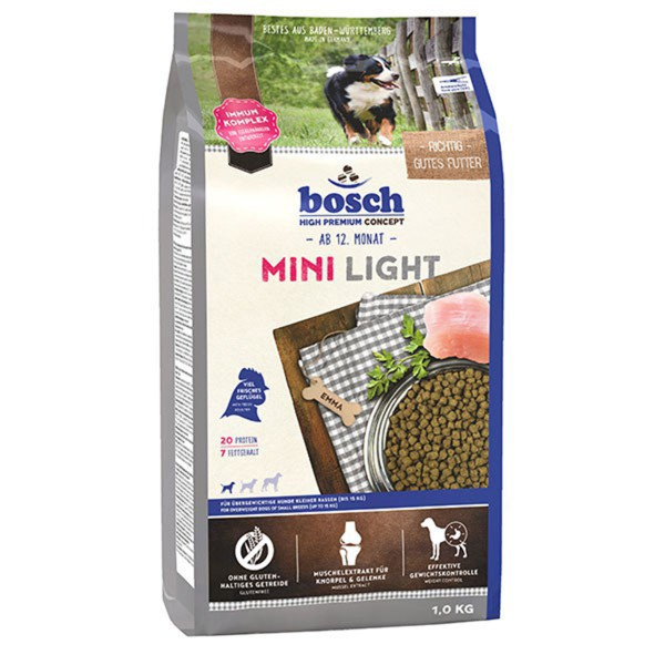 Bosch Hundefutter Mini Light - 1kg