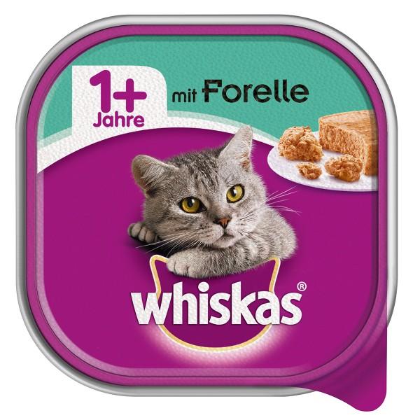 Whiskas Adult 1+ mit Forelle 32x100g