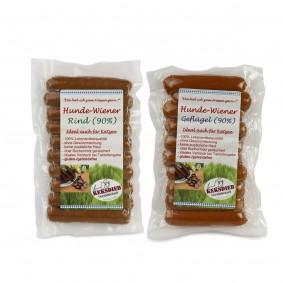 Keksdieb Hundesnack Hunde Wiener Mixpaket 6 Stück