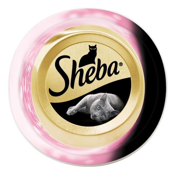Sheba Katzenfutter Feine Filets Meeresfrüchte -...