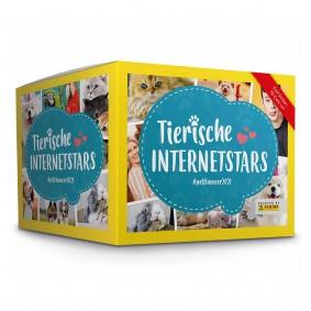 PANINI Tierische Internetstars Sammelsticker 250 Sticker (50 Tütchen)