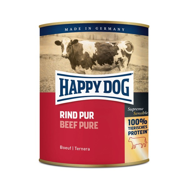 Happy Dog Rind Pur 6x800g