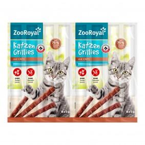 ZooRoyal Katzen-Grillies mit Ente