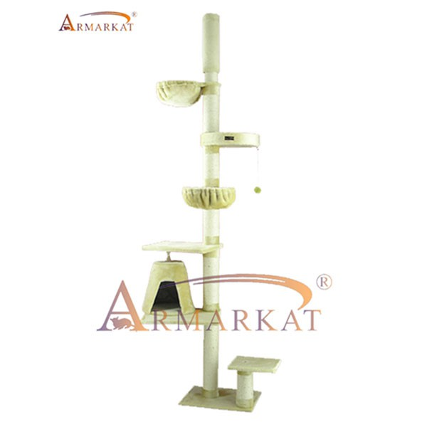 Armarkat Kratzbaum 81x79x242-278cm