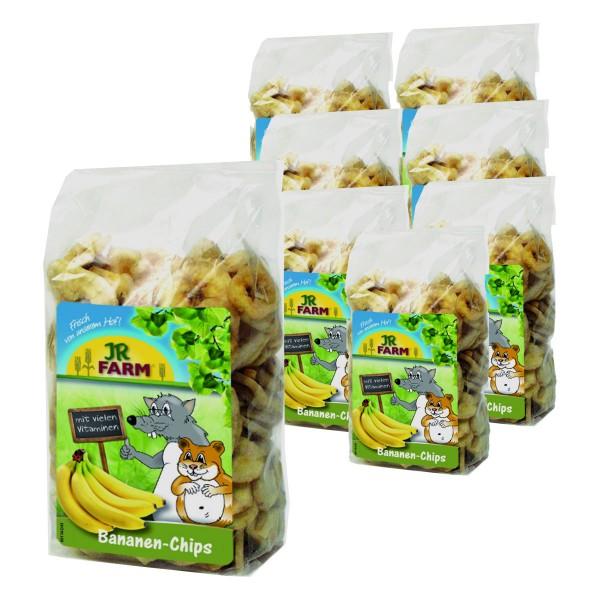 JR Farm Bananen-Chips Ergänzungsfutter 8x150g