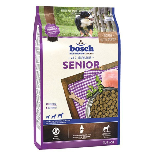 Bosch Hundefutter Senior - 2,5kg