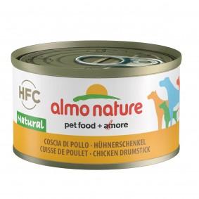 Almo Nature HFC Natural Dog mit Hühnerschenkel 95g 5+1 gratis