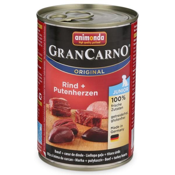 Animonda Hundefutter GranCarno Junior Rind und ...