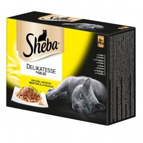 Sheba Delikatesse in Gelee Geflügel Variation Multipack 8x85g