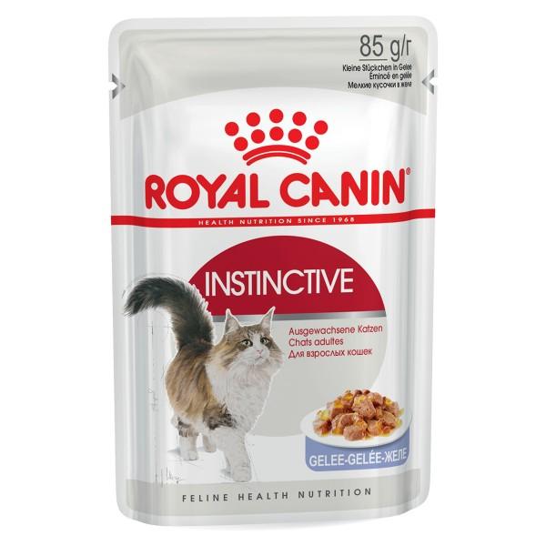 Royal Canin Katzenfutter Instinctive in Gelee 85g