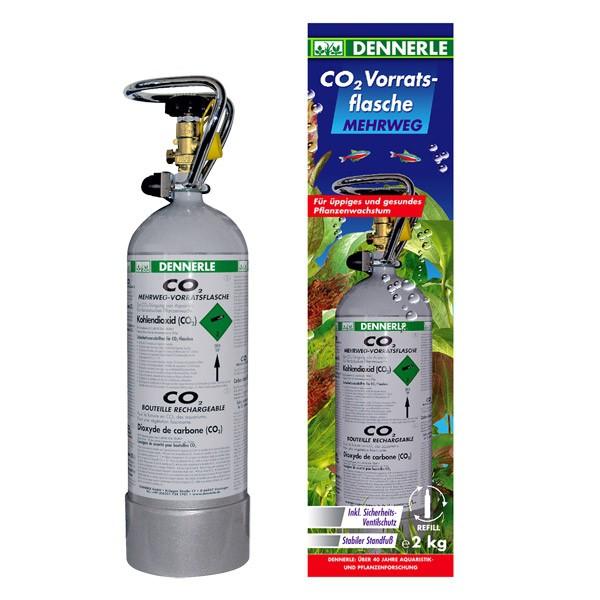 Dennerle Classic-Line CO2 Mehrweg-Vorratsflasche 2kg