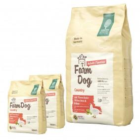 Green Petfood FarmDog Country 10kg + 2x900g gratis