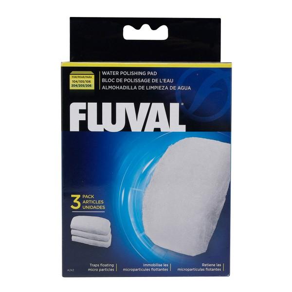 Jemné filtrační vložky pro Fluval 104, 105, 106 + 204, 205, 206 (sada 3 ks)