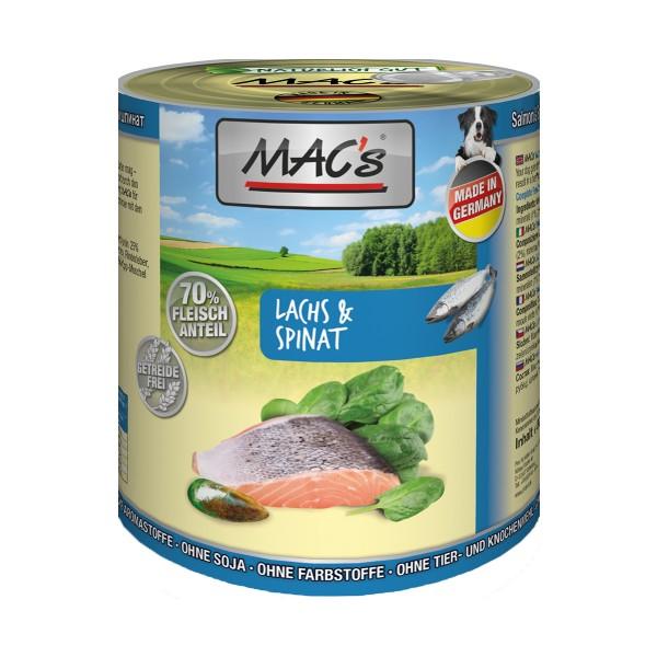 MAC's Dog Lachs und Spinat