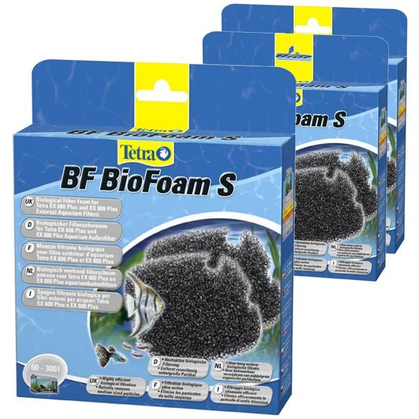 Tetra BF Biologischer Filterschwamm EX 600 Plus und 800 Plus 3er Pack