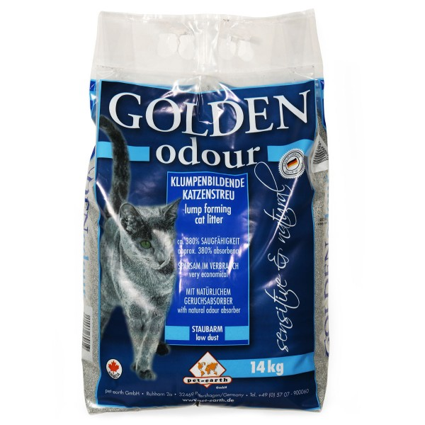 Golden Odour Katzenstreu