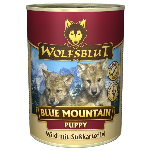 Wolfsblut Blue Mountain Puppy mit Wildfleisch