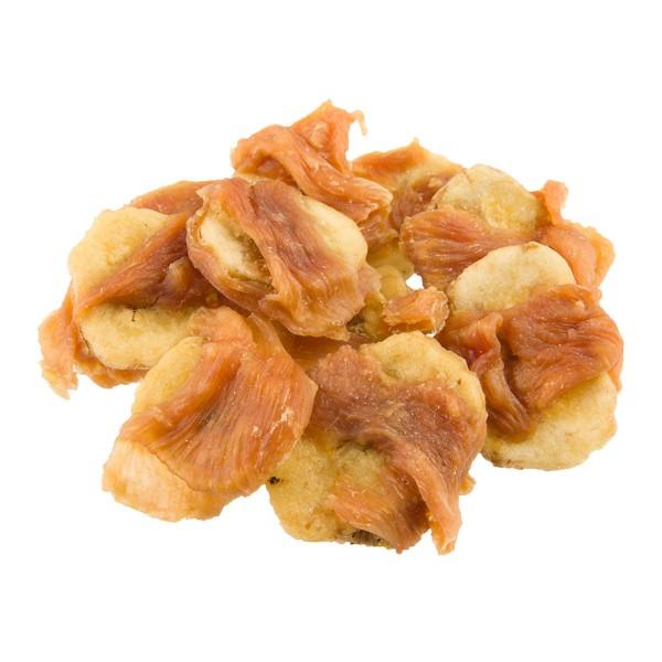 Dokas Hundesnack Hühnerbrust mit Banane
