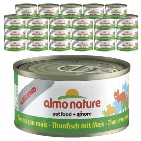 Almo Nature Legend Katzenfutter 24x70gThunfisch & Mais