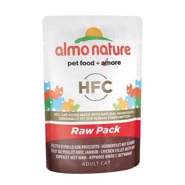 Almo Nature HFC Raw Hühnerfilet und Schinken