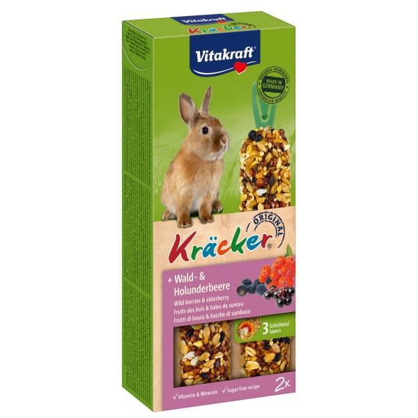 Vitakraft Zwergkaninchen Kräcker mit Wald- & Holunderbeere