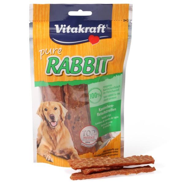 Vitakraft pure Rabbit Kaninchenfleischstreifen