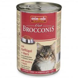 Animonda Katzenfutter Brocconis Geflügel und Herz