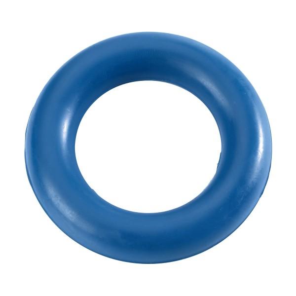 Hunter Hundespielzeug Vollgummiring blau 8cm