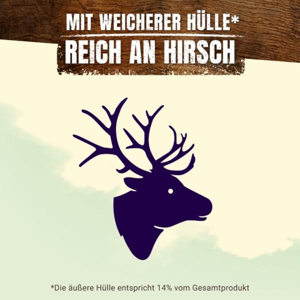 AdVENTuROS Wild Chew Hirsch für kleine Hunde