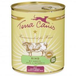 Terra Canis Rind mit Karotte, Apfel und Naturreis 800g