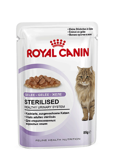 Royal Canin Katzenfutter Sterilised in Gelee 12x85g