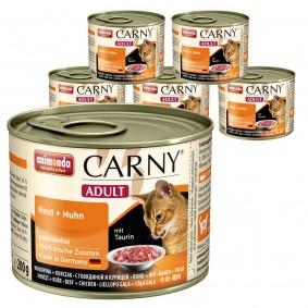 Animonda Katzen-Nassfutter Carny Adult Rind und Huhn