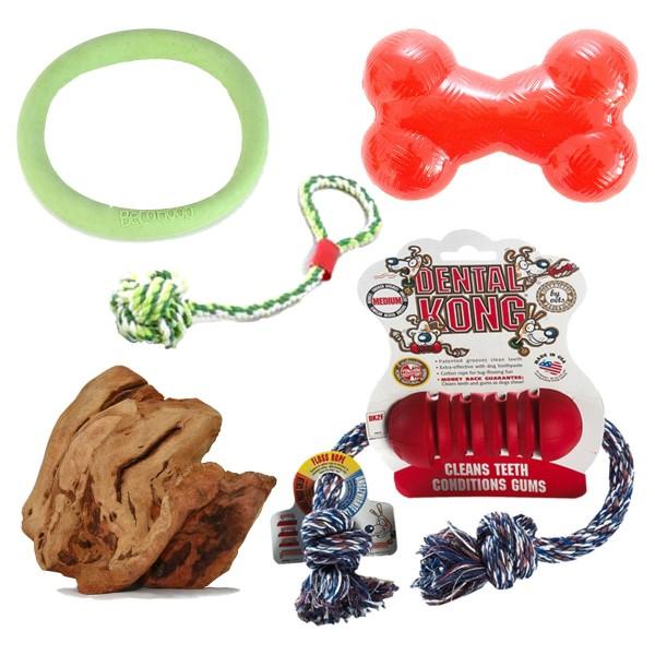 Tau&Kau-Spielzeuge für kleine Hunde
