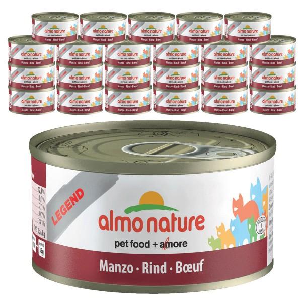 Almo Nature Legend Katzenfutter 24x70g Rind