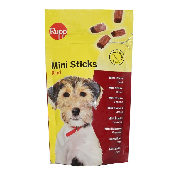 Rupp Hundesnack Mini Sticks mit Rind 60g
