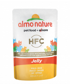 Almo Nature HFC in Jelly pouch Huhn