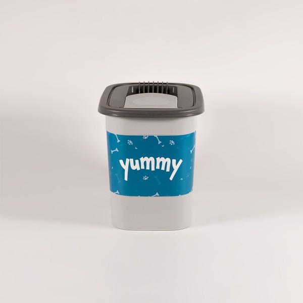 "Rotho MyPet Tierfutter Snackbox 2,2l Sonder-Edition""yummy"""