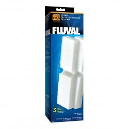 FLUVAL Schaumstoffvorfilter 3er Pack für Fluval FX5 + FX6
