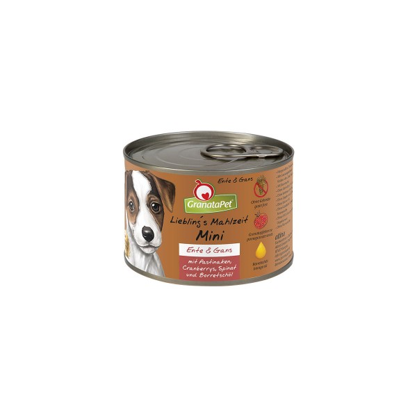 Granatapet Liebling´s Mahlzeit Mini Ente & Gans 200g