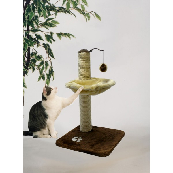 Silvio Design Spielboy für Katzen beige/braun