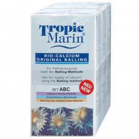 Tropic Marin Bio-Calcium Original Balling Set ABC 3x1kg