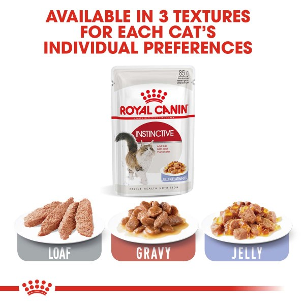 Royal Canin Instinctive in Gelee 48x85g