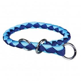 Trixie Halsband Cavo Würger blau/hellblau